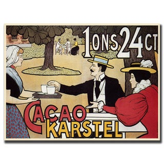 'Cacao Karstel' Canvas Art