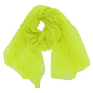 LA77 Bright Yellow Versatile Scarf