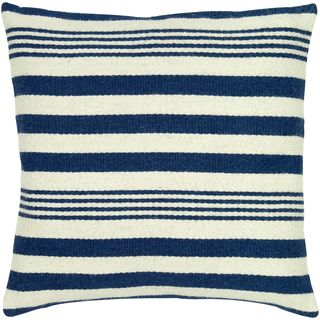 Rizzy Home 24-inch Nautical Stripe Throw Pillow