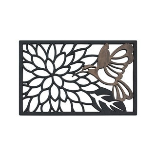 Hummingbird Rubber Doormat