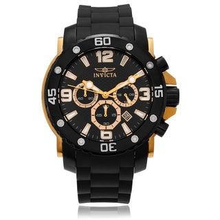 Invicta Men's 18166 'Pro Diver' Polyurethane Strap Watch