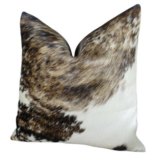 Plutus Exotic Dark Tri-color Handmade Throw Pillow