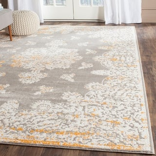 Safavieh Passion Grey/ Ivory Rug (9' x 12')