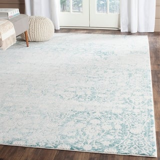 Safavieh Passion Turquoise/ Ivory Rug (9' x 12')
