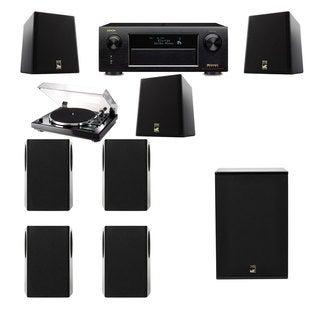 M&K Sound S150II Loudspeaker 7.1 Thorens TD-240-2 X12 Denon AVR-X5200W