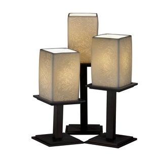 Justice Design Group Limoges Montana 3-light Dark Bronze Portable