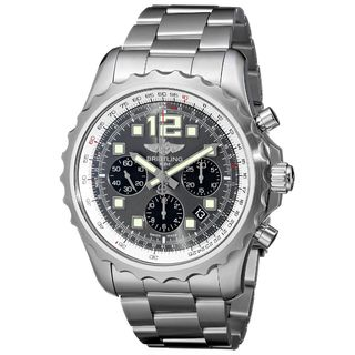 Breitling Men's A2336035-F555 'Chronospace' Chronograph Automatic Stainless Steel Watch