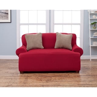 Form Fit Stretch Love Seat Cover