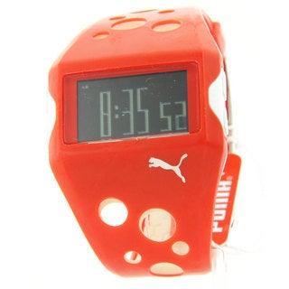 Puma Men's Sporty Rubber Multifunction Digital Flow Watch