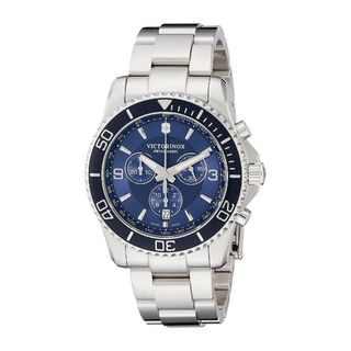 Victorinox Swiss Army Men's 241689 'Maverick' Chronograph Stainless Steel Watch