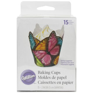 Specialty Baking CupsMulticolor Butterfly 15/Pkg