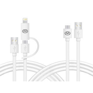 MiiKey bundle pack MiiWire 6 foot long and MiiWire Micro 10 foot long cable