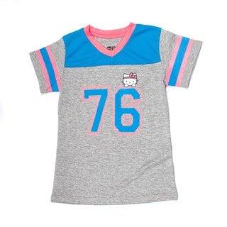 Hello Kitty V-Neck Football Tee