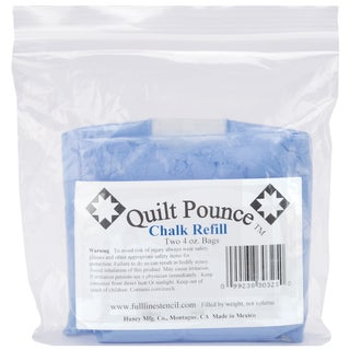 Quilt Pounce Chalk Refill4oz Blue