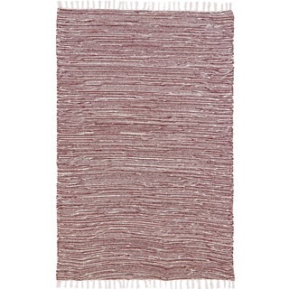 Brown Complex Chenille Flat Weave (9'x12') Rug