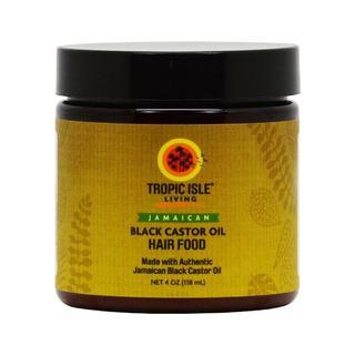 Tropic Isle Living Jamaican Black Castor Oil 4-ounce Hair Food