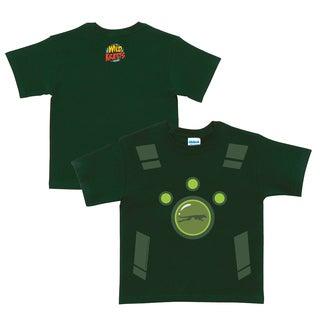 Wild Kratts Creature Power Suit Forest Green T-Shirt