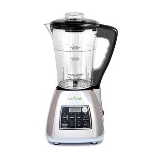 NutriChef PKSM240-V Digital Electronic Soup Cooker + Blender + Juice Drink Maker