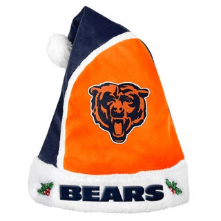 Chicago Bears 2015 NFL Polyester Santa Hat