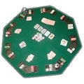 Poker & Blackjack High Grade Table Top with Case