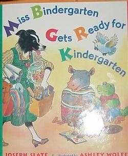 Miss Bindergarten Gets Ready for Kindergarten (Hardcover)