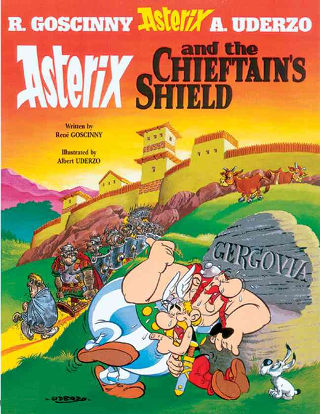 Asterix and the Chieftain's Shield (Hardcover)