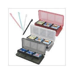 8 Stylus Pens + 3 Colored Game Card Cases for Nintendo DS Lite