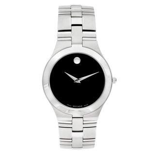 Movado 'Juro' Men's 0605023 or Women's 0605024 Stainless Steel Watch