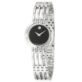 Movado Women's 0605098 Esperanza Black Dial Watch