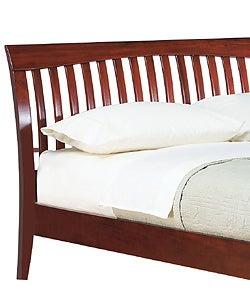 Contemporary Shaker Full-size Platform Bed