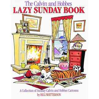 The Calvin and Hobbes Lazy Sunday Book: A Collection of Sunday Calvin and Hobbes Cartoons (Paperback)