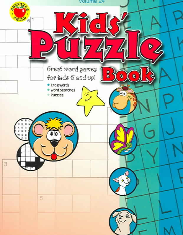 Kids' Puzzle Book (Paperback)