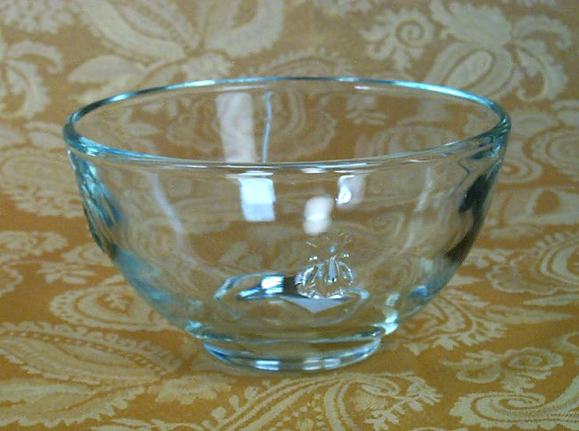 French La Rochere Bee Embossed 6-pc. Bowl Set