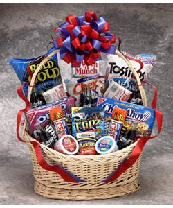 Classic Coke Snack Works Large Gift Basket