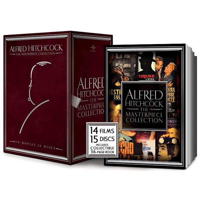 Alfred Hitchcock: The Masterpiece Collection (DVD)