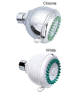Barcelona White Finish Showerhead