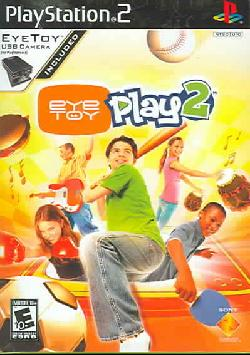 PS2 - EyeToy: Play 2 (Includes Camera)