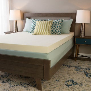 Serta Ultimate 4-inch Visco Memory Foam Mattress Topper