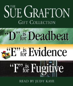 The Sue Grafton DEF Gift Collection (CD-Audio)