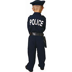 Award Winning Deluxe Police Costume Set (Size 2-18)