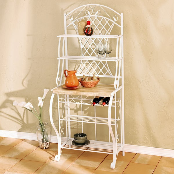 Upton Home Trellis Baker's Rack