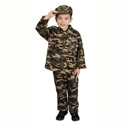 Deluxe Children's Army Dress Up Set