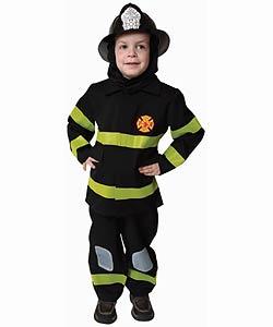 Award Winning Deluxe Fire Fighter Dress Up Costume