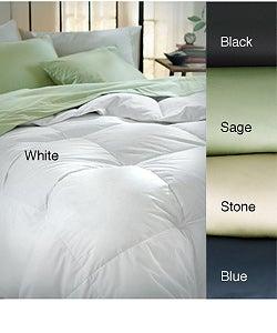 Elementa Sateen Hi-loft 300 Thread Count Down Alternative Comforter