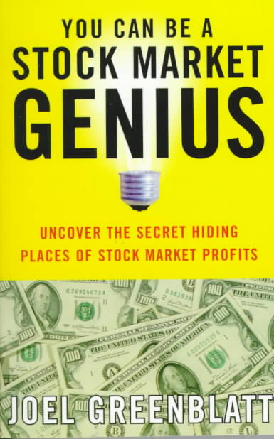 You Can Be a Stock Market Genius: Uncover the Secret Hiding Places of Stock Market Profits (Paperback)