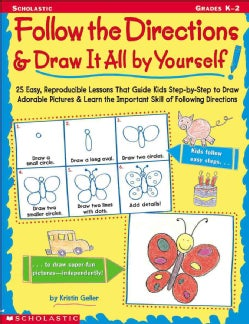 Follow the Directions & Draw It All by Yourself! (Paperback)