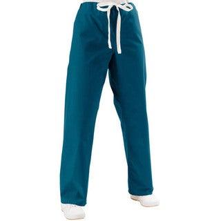 Medline Caribbean Blue Unisex Reversible Scrub Pants