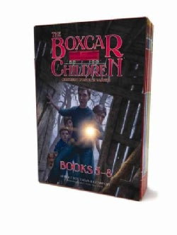 The Boxcar Children Mysteries Boxed Set 5-8: Mike's Mystery, Blue Bay Mystery, the Woodshed Mystery, & the Lighth... (Paperback)