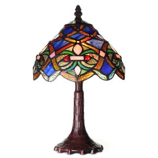 Tiffany-style Arielle Accent Lamp