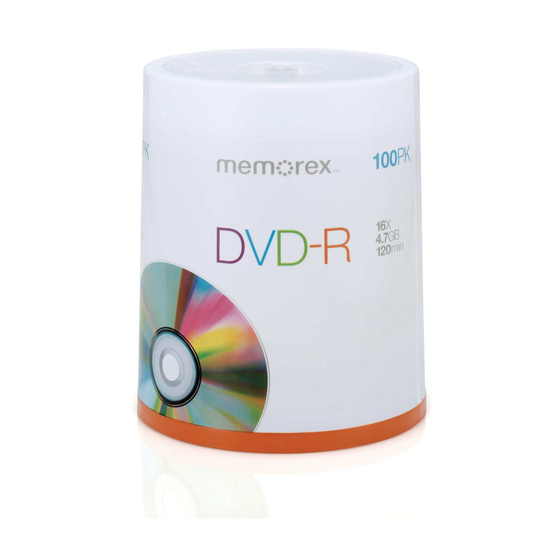 Memorex 16x DVD-R Media